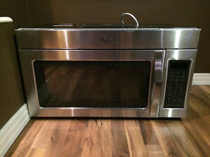 BRAND NEW under counter stainless microwave