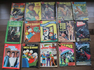 Old Comics Comic Books Star Wars Roy Rogers Superman Tarzan Trek
