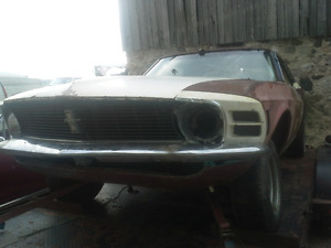1970 Mustang with ownership!