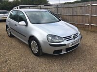 VW GOLF 1.4 S 5DR 2004 IDEAL FIRSR CAR CHEAP INSURANCE FULL SERVICE HISTORY