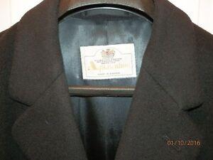 AQUASCUTUM of London - manteau long cachemire / coat 42R