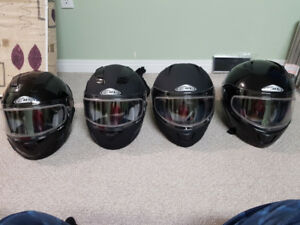Zox snowmobile helmets sizes XS, S, L and XL