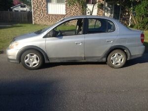 2000 Toyota Echo hatchback Berline