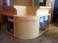 Salon equipment and receiption desk for sell