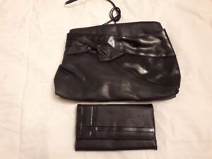 Patton leather purse with matching wallet