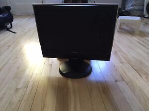 ViewSonic 19-inch LCD Monitor /Écran lcd