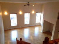 Beautiful 2 bdrm loft apartment- King St. Uptown *AVAILABLE NOW*