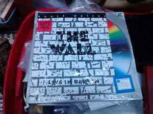 RARE Laser Disc Pink Floyd The Wall Live in Berlin 1990