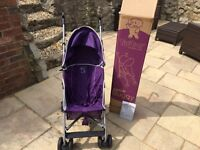 Tippitoes lightweight pushchair buggy excellent condition
