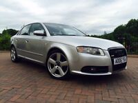 AUDI A4 S LINE FACELIFT 2.0 TDI 140 BHP 6 SPEED FULL SERVICE HISTORY *WELL MAINTAINED*