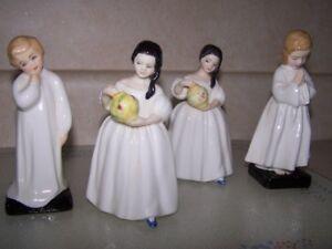 FOUR CHILDHOOD ROYAL DOULTON FIGURINES