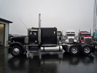 2007 Freightliner Classic Flat Top with a REBUILT DETROIT