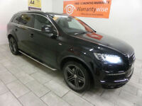 2011 Audi Q7 3.0TDI 242hp 4X4 quattro S Line ***BUY FOR ONLY £120 A WEEK***
