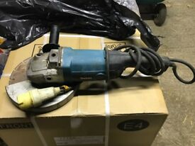 "Makita 9"" Grinder with Diamond Blade"