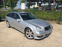 2006 56 Mercedes-Benz C220 2.1TD AMG Sport Edition AUTOMATIC ESTATE 89K FSH ECO
