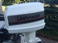 140 HP Johnson Outboard Engine