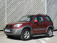 2001 RAV4 2.0 VVTi NRG 3DOOR HATCH - GREAT VALUE !!