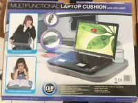 Multifunctional laptop cushion