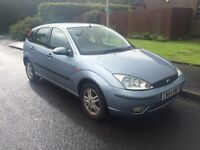 2004 54 Ford Focus 1.6 zetec.. Mot tax . Drives great bargain