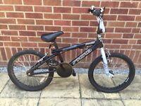 Rhino 20 inch BMX bike / cycle