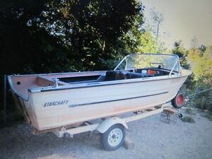 16 ft. Boat and Trailer For Sale