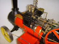 """2"""" scale traction engine"""