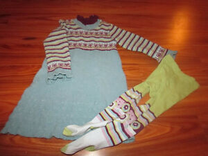 Girls size 2/4 winter dress