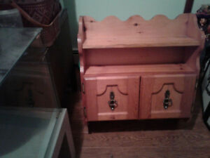 Pine Wall Cabinet