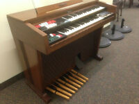 Orgue Leslie Thomas Bandbox Playmate Combo Leslie Organ Hammond