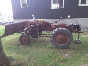"""Allis-Chalmers """"B"""" Tractor"""