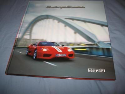Ferrari hardcover prestige brochure Challange Stradale 1920/03