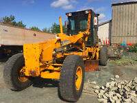1992 Champion 730 Motor Grader W/ snow plow and wing