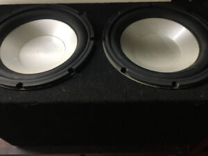 2 10 inch infinity subs