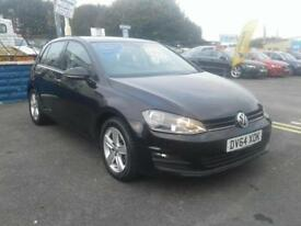 2014/64 Volkswagen Golf 1.6TDI Match BLUEMOTION BLACK ZERO TAX