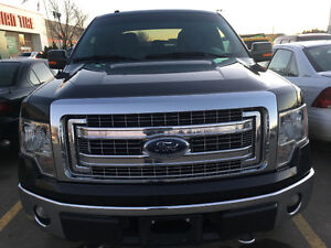 2013 Ford F-150 SuperCrew XTR 5 LITRE Engine BLACK TRUCK