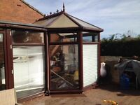Large rosewood conservatory