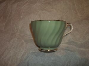 Aynsley gilded green cup