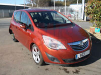 2014 Vauxhall Meriva Tech Line 1.4 DAMAGED REPAIRABLE SALVAGE