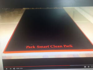 Park Smart Garage Parking Containment Mats
