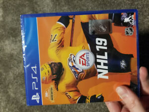 NHL 2019 PS4 brand new sealed
