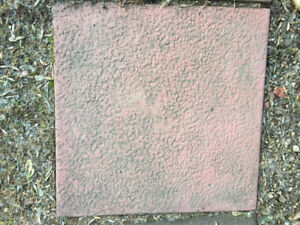 40 Cement Patio slabs 17½   inch square