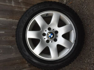 BMW snow tires and rims for sale