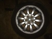 Full set of jaguar stype alloys 16""