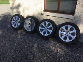 Genuine BMW X5 E70 winter wheels