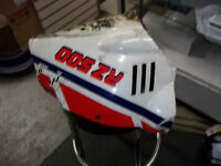 FRONT COWLING, WHITE/RED/BLUE, FOR YAMAHA RZ500