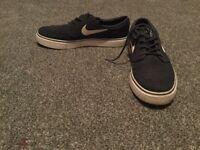 Nike blue shoes
