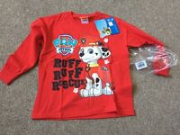 Brand new paw patrol top
