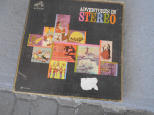 1-BOX SET COMPILATION,DE 1O- 33 TOURS,ADVENTURES IN STEREO 1959.