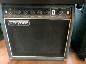 Traynor amp and passive speaker