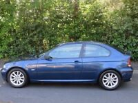 2002 Bmw 316ti 1.6 auto 80k miles bargain swaps